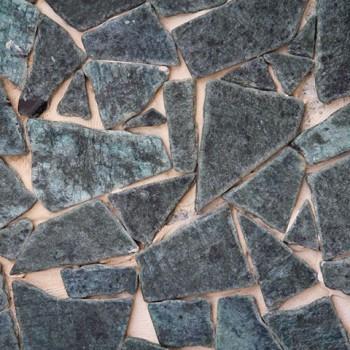 Marmo Palladiana di Verde serpentino